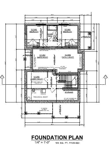 Foundation Plan House Image Search Results