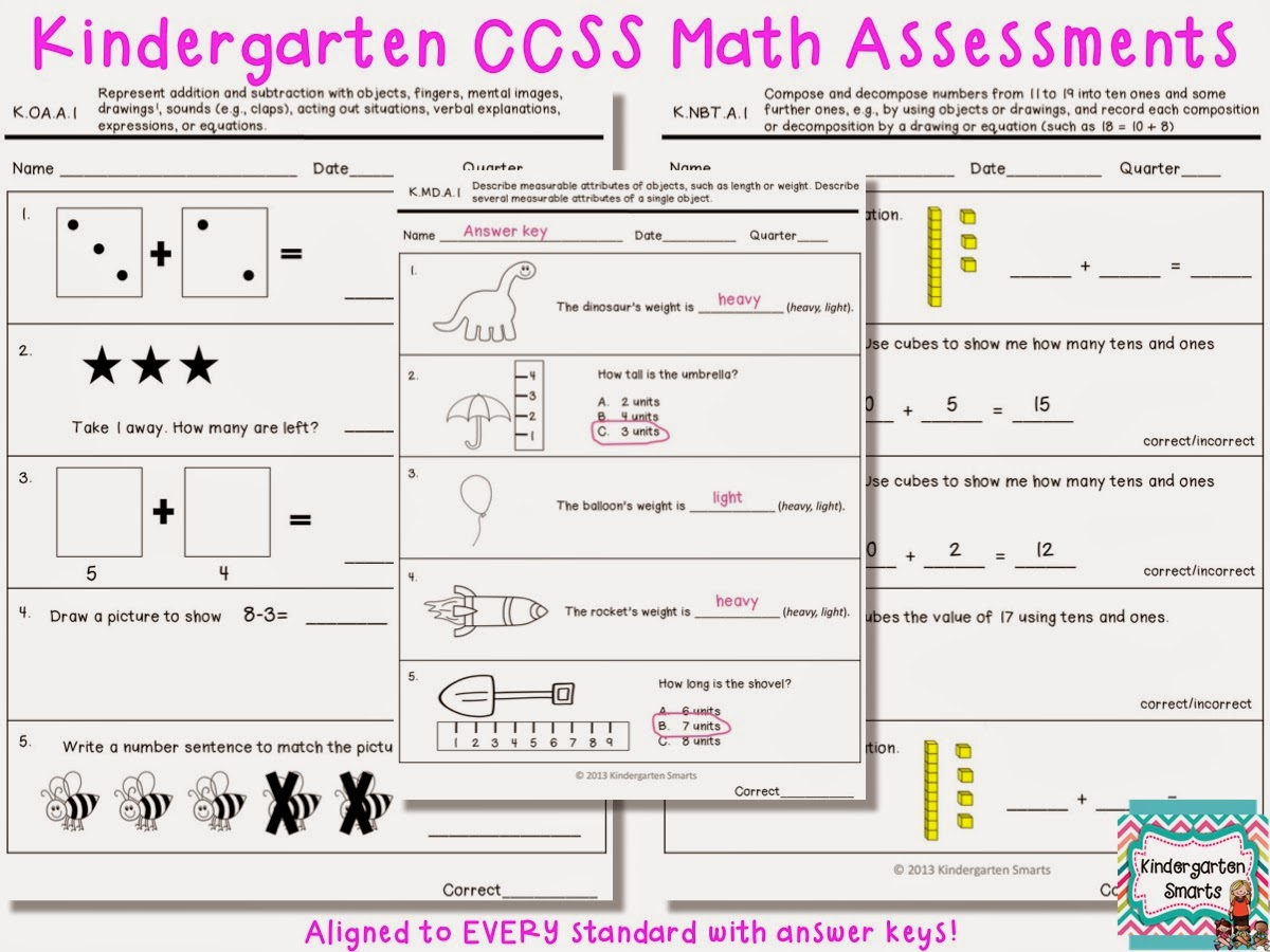 http://www.teacherspayteachers.com/Product/Kindergarten-Common-Core-Math-Assessments-771998