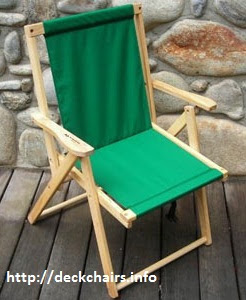 Wise Offshore Folding Deck Chairs