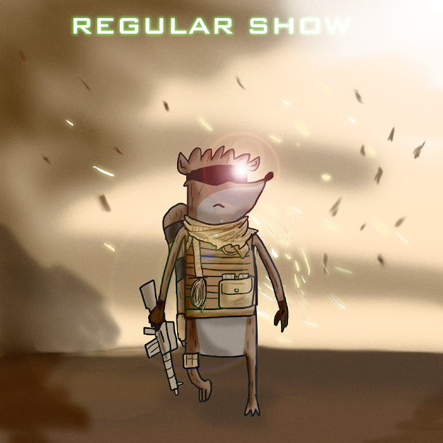 Regular Show Modern Warfare 2 por mattbyles