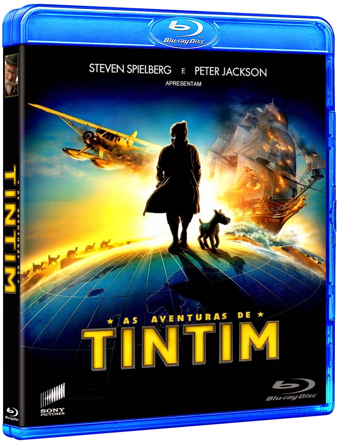 As Aventuras de Tintim (2012) BluRay 1080p Dual Áudio