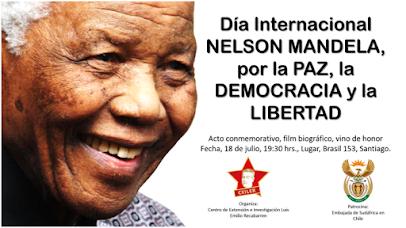INVITACIÓN CENTENARIO NELSON MANDELA