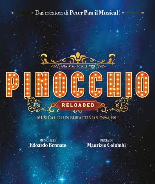 """""""PINOCCHIO RELOADED"""" REGIA DI MAURIZIO COLOMBI"""
