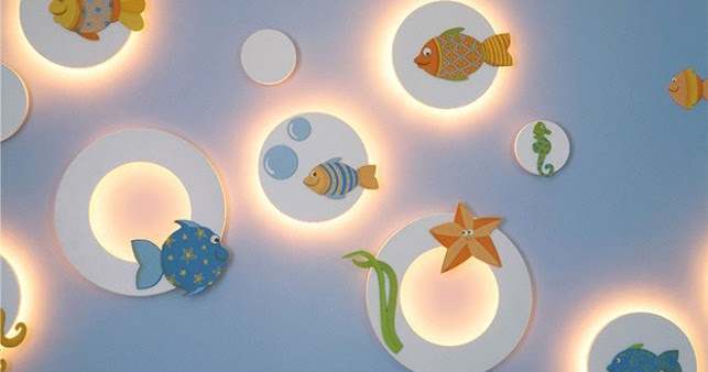 Cuarto de bebe celeste - Iluminacion habitacion bebe ...