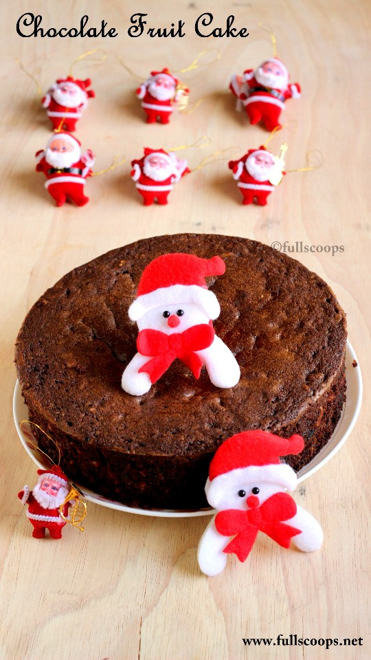 Boiled Fruit Cake Without Butter Or Sugar