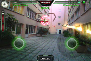 AR.Pursuit augmented reality shooter game for AR.Drone launched by Parrot