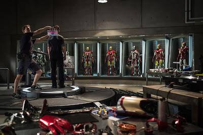 Shane Black, Iron Man 2, Iron Man 3, Robert Downey Jr., Kevin Feige, Stan Lee, Rebecca Hall, Guy Pearce, Ben Kingsley, Gwyneth Paltrow, Jon Favreay, James Badge Dale, Thor, Captain America, Ant-Man, Guardians of the Galaxy, Avengers, Don Cheadle,