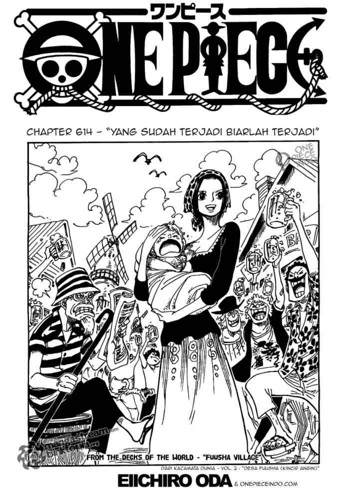 01 One Piece 614   Yang Sudah Terjadi, Terjadilah
