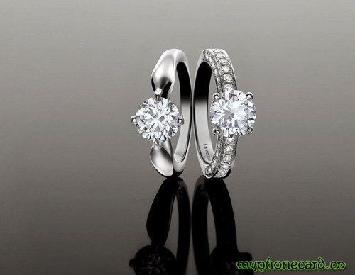 the wedding ring as a love token in addition to witness exchange of each other in the wedding day but also wears in the future life always accompanied