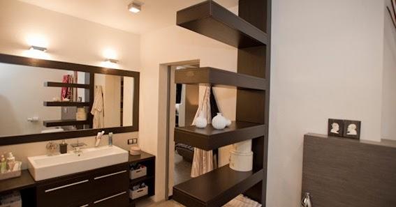 Asztalos - Székesfehérvár: Lebegő polc minimál fürdőszoba bútorral