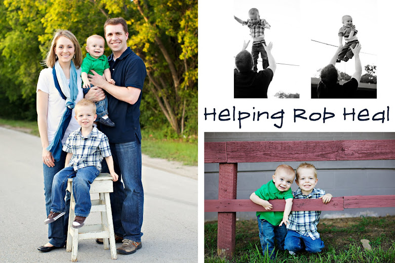 Helping Rob Heal- visit Miracles Can Occur for recent updates