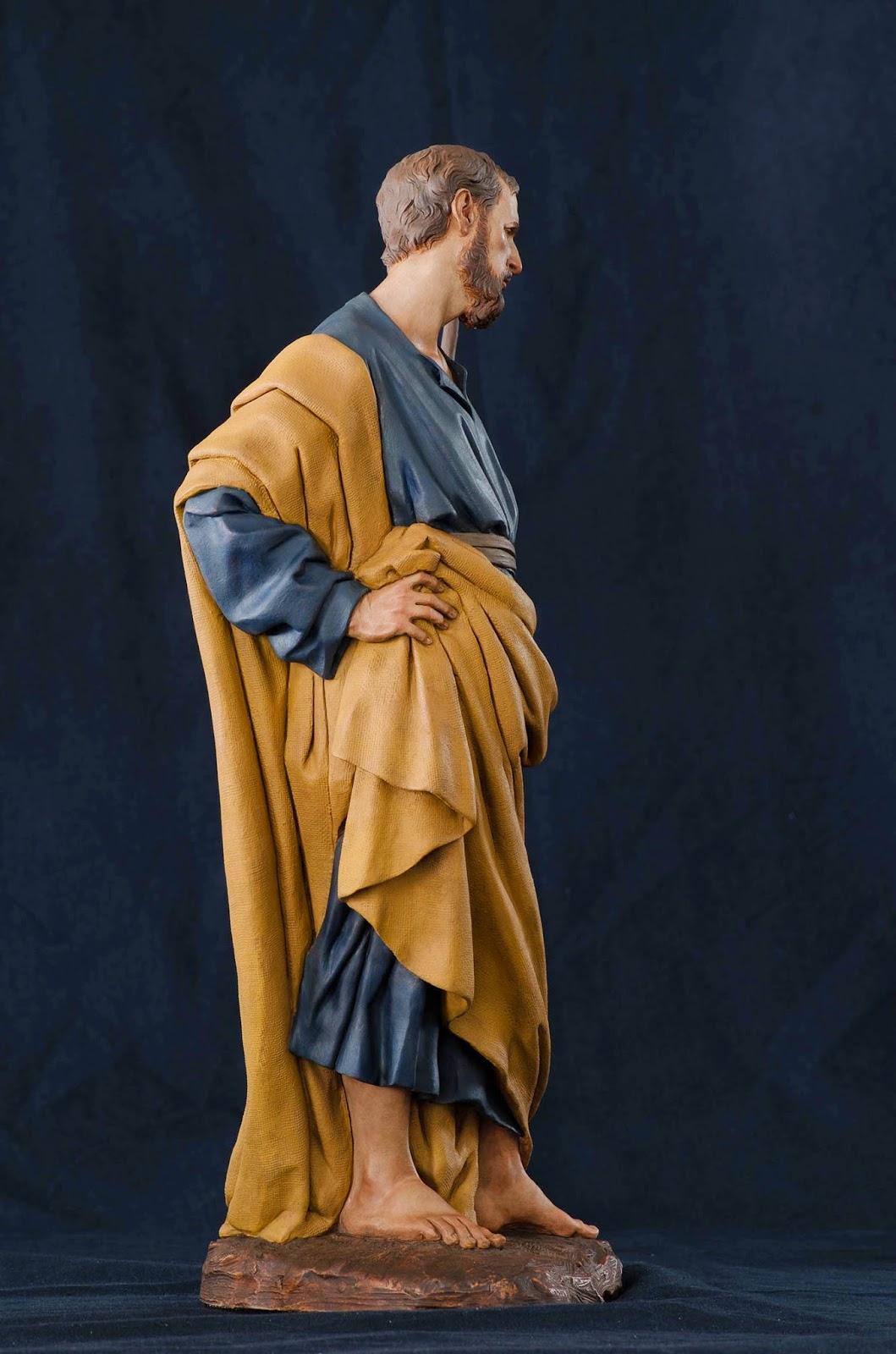 Nacimiento Belén Nativity presepe Arturo Serra Barro cocido 12
