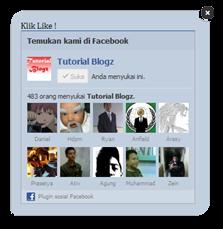 Cara Membuat Like Fanpage Facebook Melayang Keren