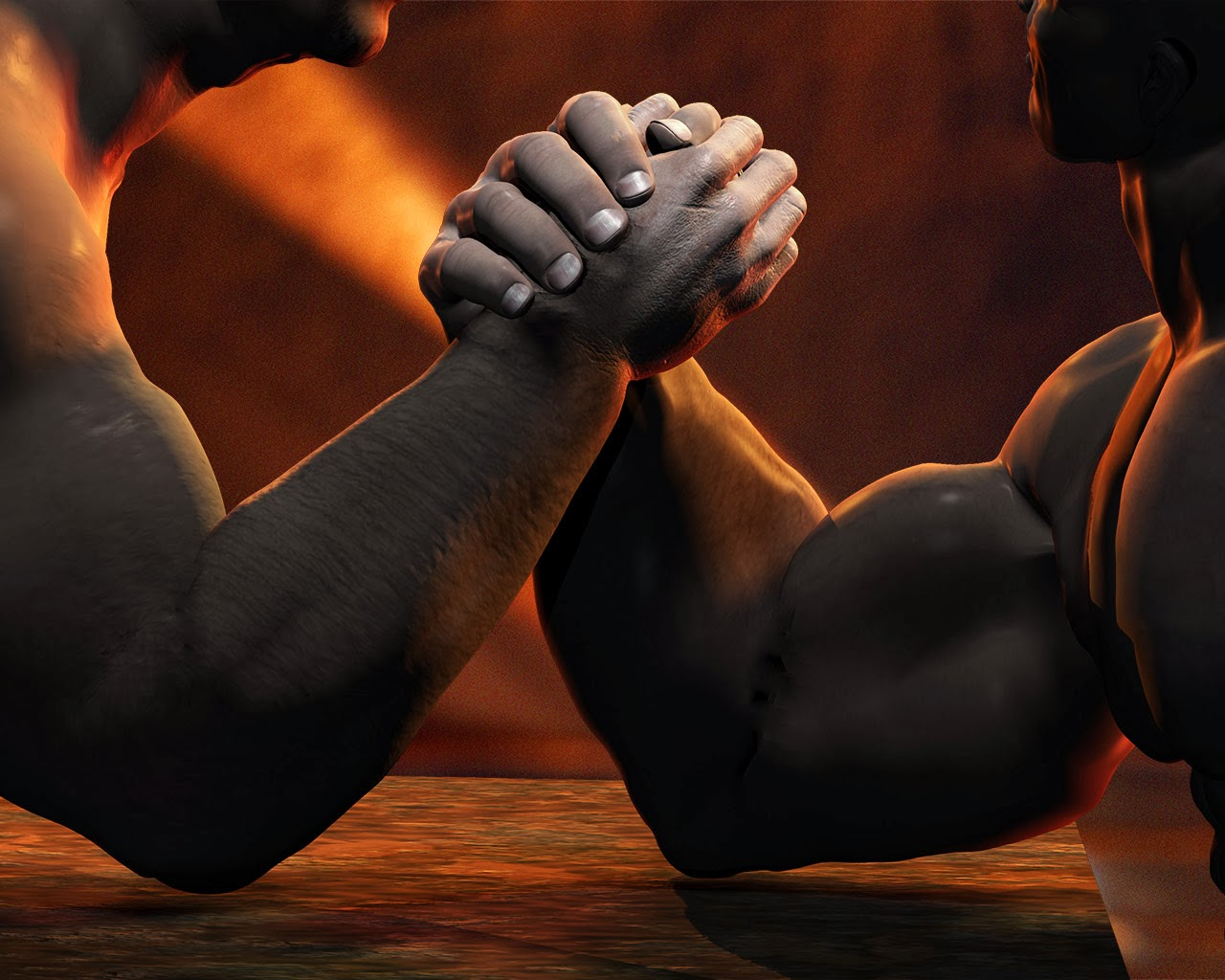 God And The Devil Arm Wrestling | www.pixshark.com ...