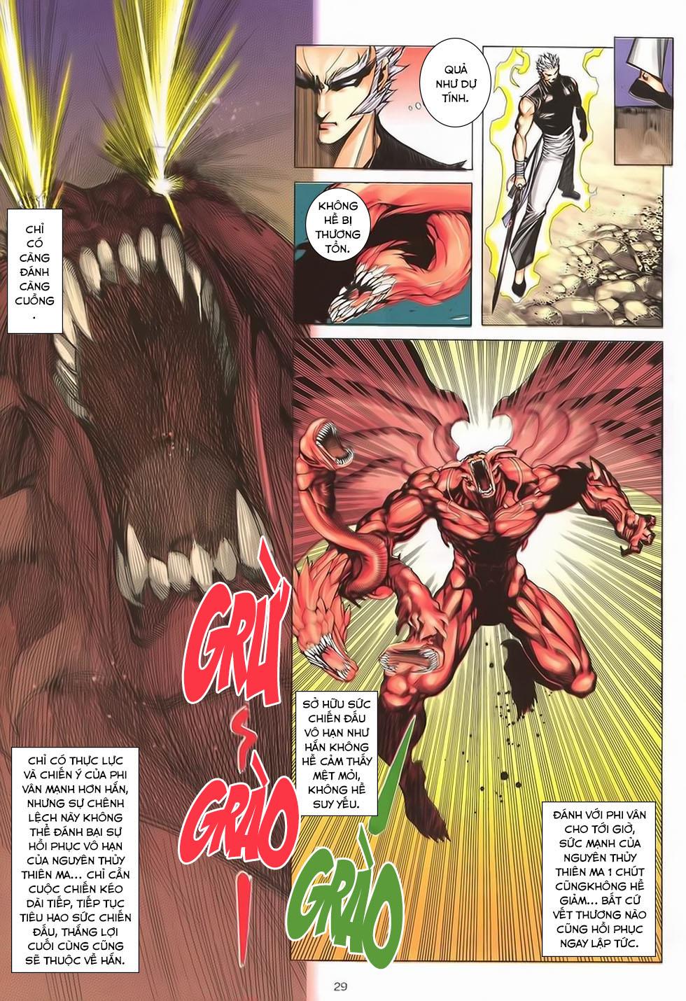 Chiến Thần Ký chap 40 - Trang 29