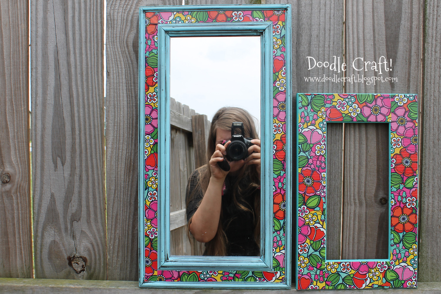 Doodlecraft duct tape picture frame duct tape picture frame jeuxipadfo Images