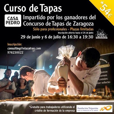Escuela De Cocina Zaragoza | Gastronomia En Zaragoza Curso De Tapas De Zaragoza En La Escuela