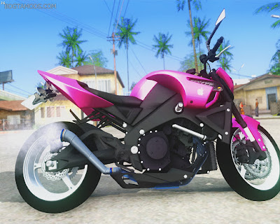 GTA SA - B King pink metalic KLE 621