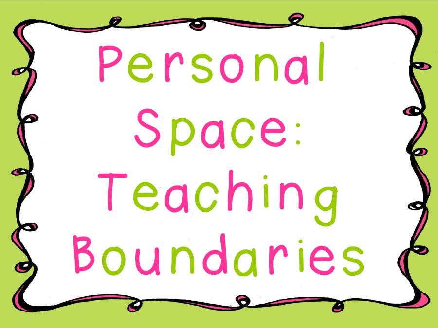 A Tender Teacher for Special Needs Personal Space Teaching – Personal Boundaries Worksheet
