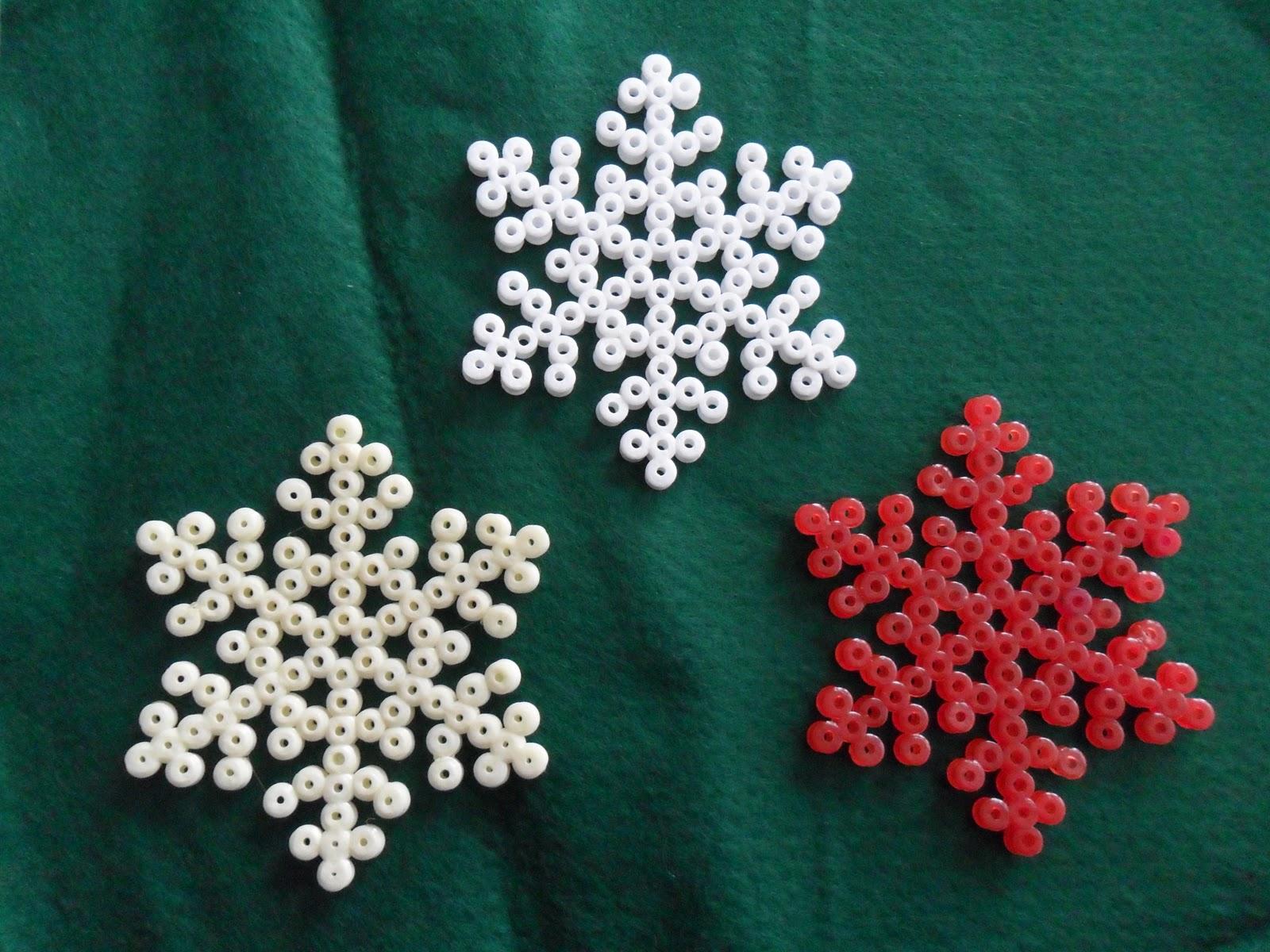 Flores de celof n estrellas de nieve for Estrella de nieve