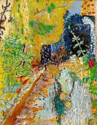 El jardí (Pierre Bonnard)
