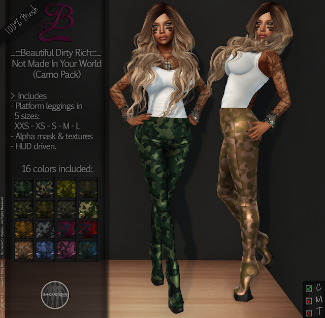 https://marketplace.secondlife.com/p/BDR-Not-Made-In-Your-World-Camo-Pack-50-OFF-for-1-Week/5497954