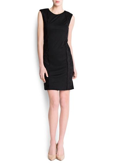 yuvarlak yaka mini elbise modeli