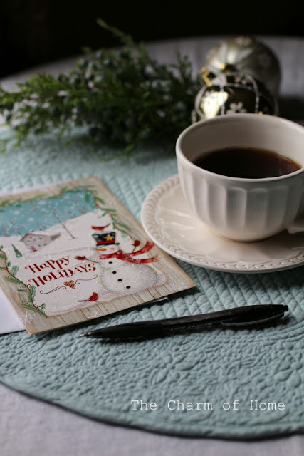 Christmas Cheer Tea: The Charm of Home