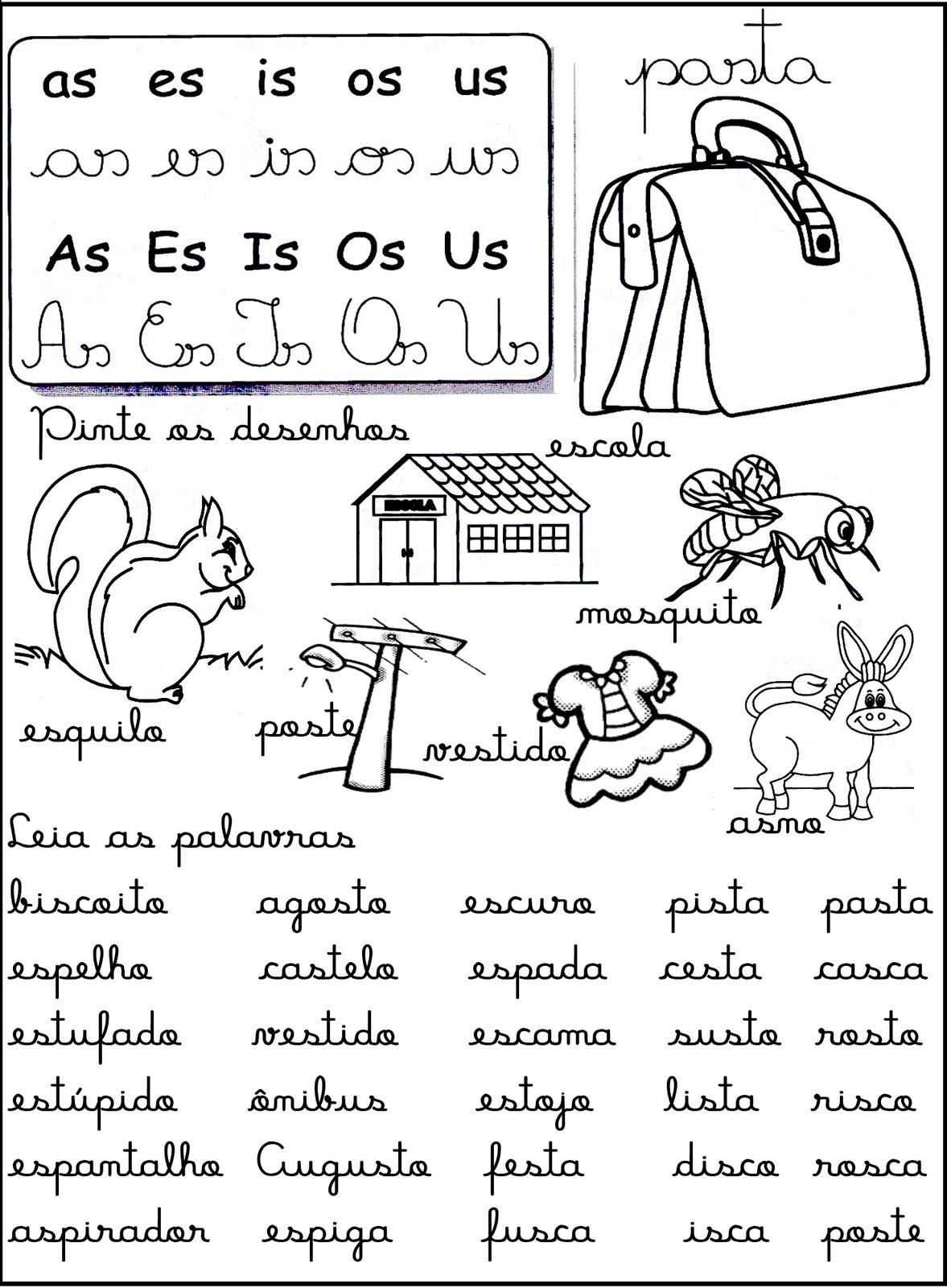 Cantinho Da Educa O S Labas Complexas Fichas De Leitura