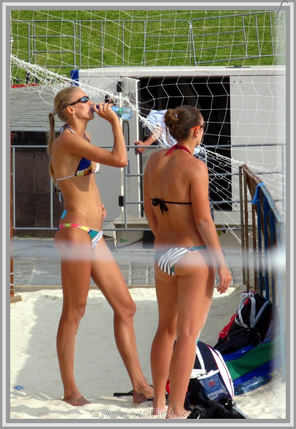 Anastasia Vasina & Anna Vozakova & Hot Moscow Summer