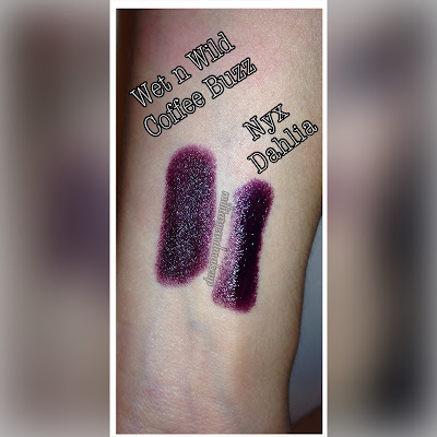 Dupe for NYX High Voltage lipstick in Dahlia