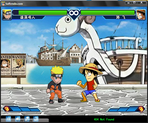 Game Naruto vs Bleach vs One Piece For PC Free