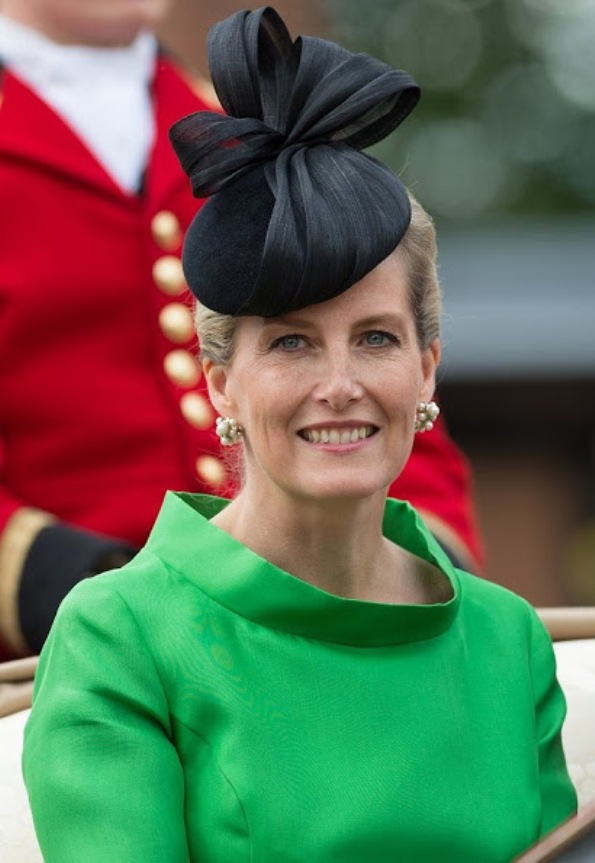 Sophie, Countess Of Wessex Attended The Order Of The Garter Service