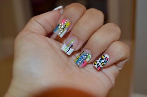 Cute Toenail Designs Easy Cute Zebra Nail Designs