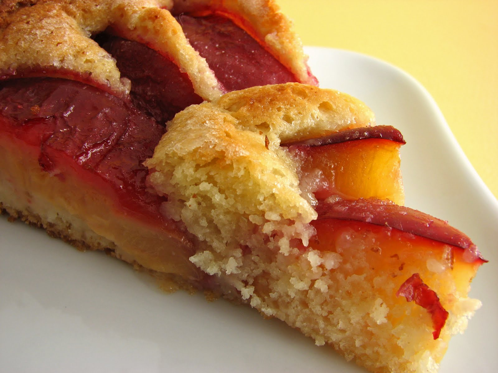 :pastry studio: Yeasted Plum Tart
