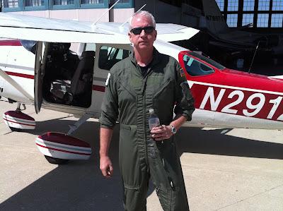 Bob Raskey, um dos aviadores retratados na série - Divulgação