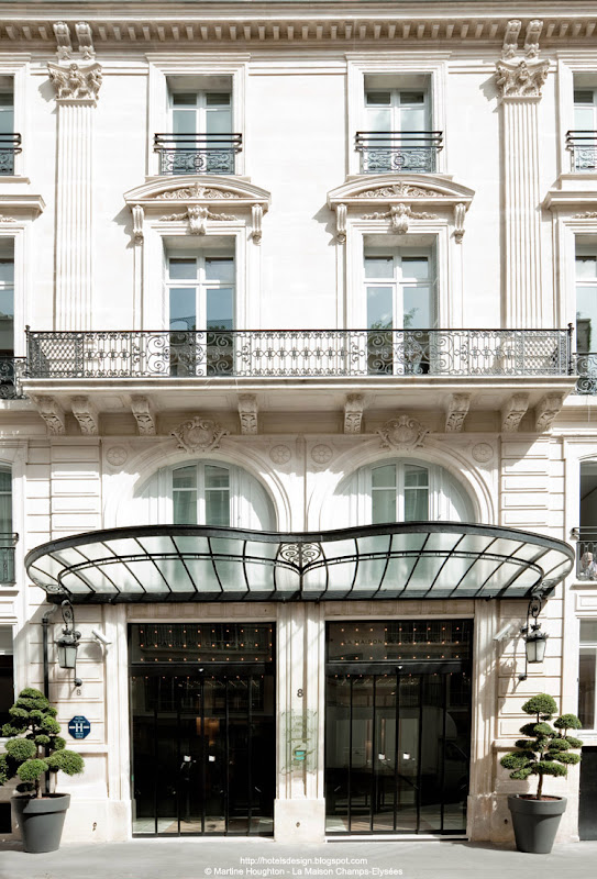 Les plus beaux hotels design du monde h tel la maison champs elysees by dani - Maison du monde paris 9 ...