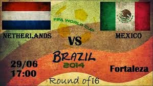 Netherlands vs. Mexico live 2014 FIFA WORLD CUP