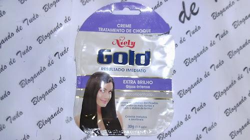 Resenha - Tratamento de Choque Niely Gold Extra Brilho