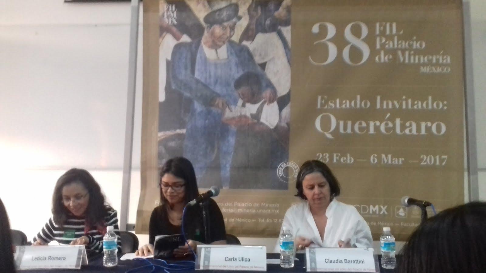 Presentación del libro en México 5 de marzo 2017