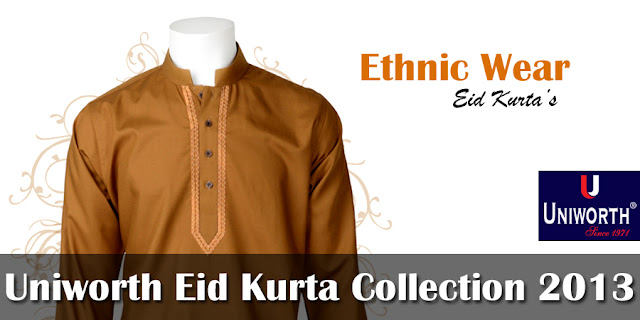 Uniworth Eid Kurta Collection 2013-2014 For Men