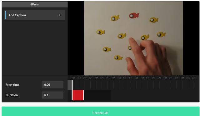 Cara Buat Gambar GIF daripada Video