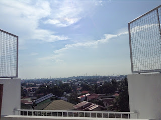townhouse for sale in Quezon City view from veranda