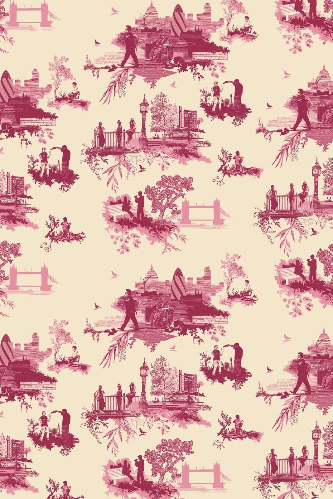 Erinmaddoxgroup4 timorous beasties wallpaper and textile design - Toile de verre sans motif ...