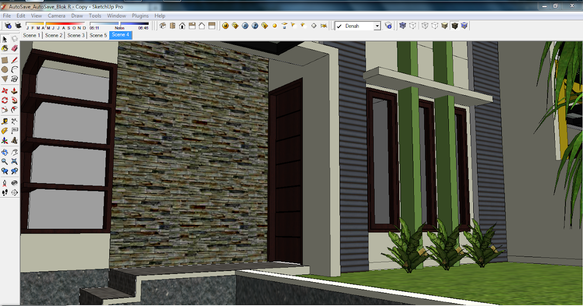 design visualizer exterior depan rumah