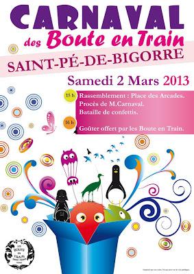 Saint-Pé-de-Bigorre. Carnaval des Boute-en-Train