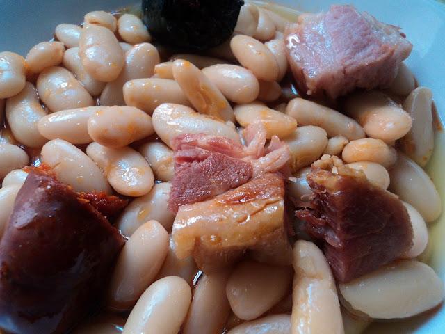 Fabada receta asturiana
