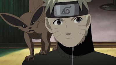 Naruto y Chibi Kurama