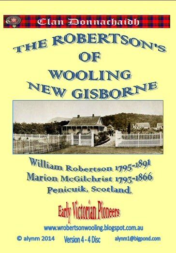THE ROBERTSON'S OF WOOLING  NEW GISBORNE VIC AUSTRALIA - A BOXED FOUR  DISC DVD  SET
