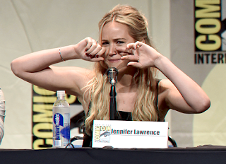 Jennifer Lawrence comic con 2015